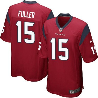 Nike Texans 15 Will Fuller Red Youth Stitched NFL Elite Jersey