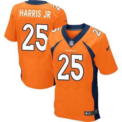 Nike Broncos 25 Chris Harris Jr Orange Men's Stitched NFL New Elite Jersey