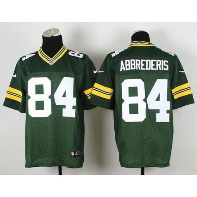 Nike Packers 84 Jared Abbrederis Green NFL Elite Men Jersey