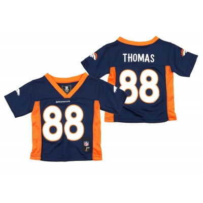 Nike Broncos 88 Demaryius Thomas Navy Blue NFL Toddler Jersey