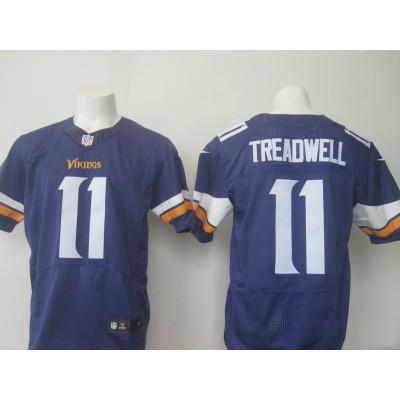 Minnesota Vikings 11 Laquon Treadwell Nike Purple Elite 2016 NFL Draft Men Jersey