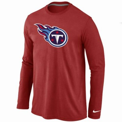 Nike Tennessee Titans Logo Long Sleeve T-Shirt Red