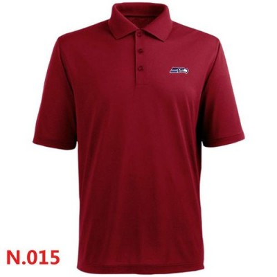 Nike Seattle Seahawks 2014 Players Performance Polo Red