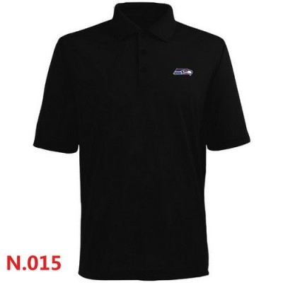 Nike Seattle Seahawks 2014 Players Performance Polo Black