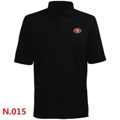 Nike San Francisco 49ers 2014 Players Performance Polo Black