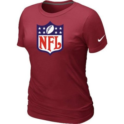 Women Nike NFL Logo NFL T-Shirt Red