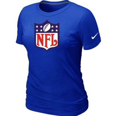 Women Nike NFL Logo NFL T-Shirt Blue