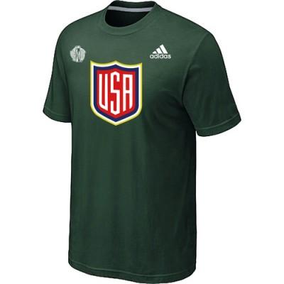 Men US Hockey adidas D.Green 2016 World Cup of Hockey T-Shirt