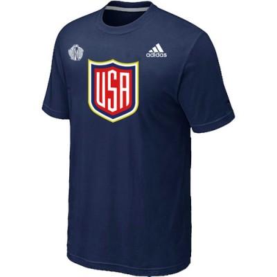Men US Hockey adidas D.Blue 2016 World Cup of Hockey T-Shirt