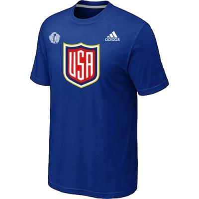 Men US Hockey adidas Blue 2016 World Cup of Hockey T-Shirt