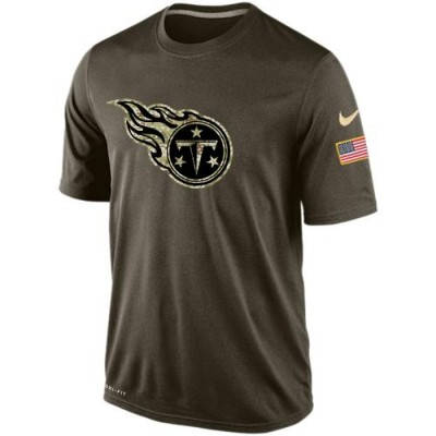 NFL Tennessee Titans Salute To Service Men Nike Dri-FIT T-Shirt
