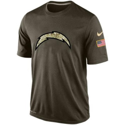 NFL San Diego Chargers Salute To Service Men Nike Dri-FIT T-Shirt