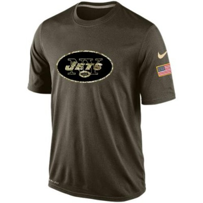 NFL New York Jets Salute To Service Men Nike Dri-FIT T-Shirt