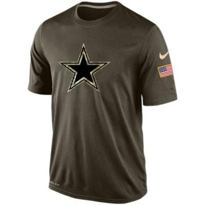 NFL Dallas Cowboys Salute To Service Men Nike Dri-FIT T-Shirt