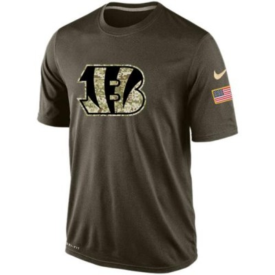 NFL Cincinnati Bengals Salute To Service Men Nike Dri-FIT T-Shirt