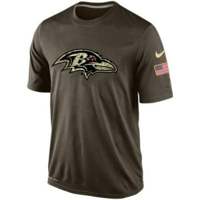 NFL Baltimore Ravens Salute To Service Men Nike Dri-FIT T-Shirt
