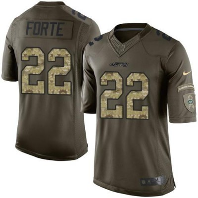 Nike Jets 22 Matt Forte Green Youth NFL Salute to Service Jersey