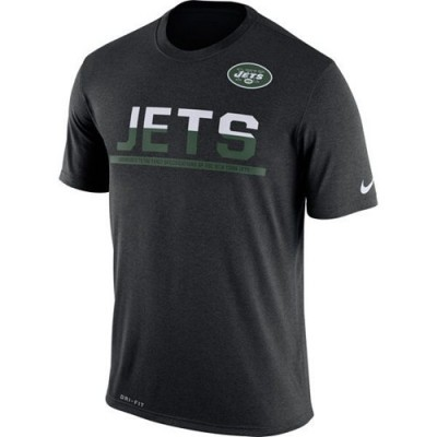 NFL New York Jets Nike Practice Legend Performance T-Shirt Black