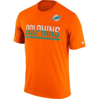 NFL Miami Dolphins Nike Practice Legend Performance T-Shirt Orange