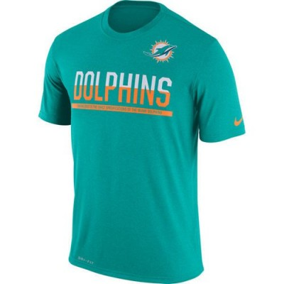 NFL Miami Dolphins Nike Practice Legend Performance T-Shirt Green