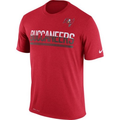 NFL Tampa Bay Buccaneers Nike Practice Legend Performance T-Shirt Red