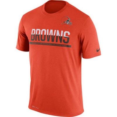 NFL Cleveland Browns Nike Practice Legend Performance T-Shirt Orange