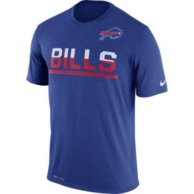 NFL Buffalo Bills Nike Practice Legend Performance T-Shirt Royal Blue