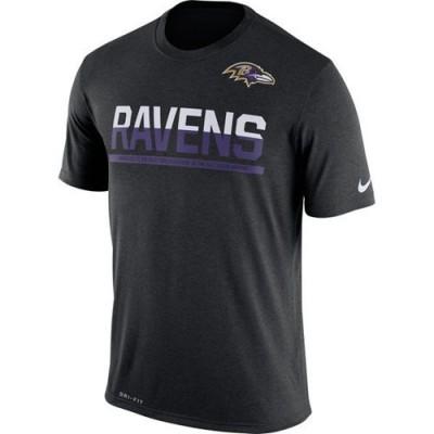 NFL Baltimore Ravens Nike Practice Legend Performance T-Shirt Black