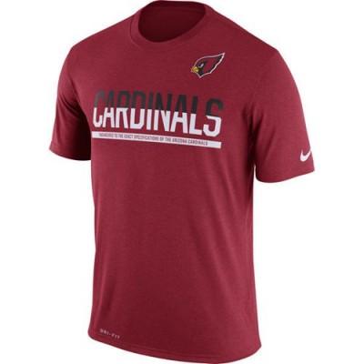 NFL Arizona Cardinals Nike Practice Legend Performance T-Shirt Red