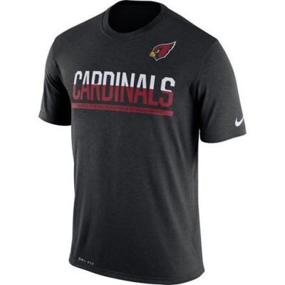 NFL Arizona Cardinals Nike Practice Legend Performance T-Shirt Black