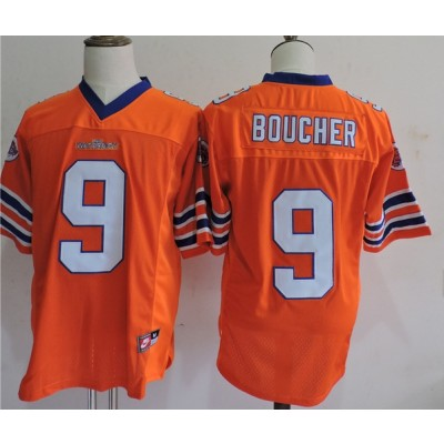 The Waterboy Adam Sandler 9 Bobby Boucher Football Movie Jersey