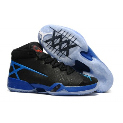 Air Jordan XXX 30 Shoes Blue Black