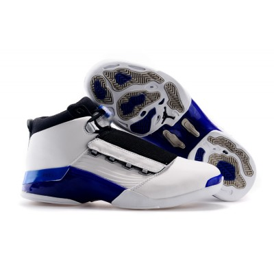 Air Jordan 17 (XVII) Original (OG)  White-College Blue-Black
