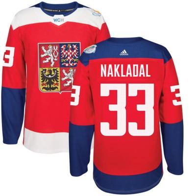 Hockey Team Czech Republic 33 David Pastrnak 2016 World Cup Of Red Men Jersey