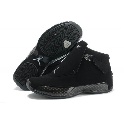 Air Jordan 18 Full Black shoes