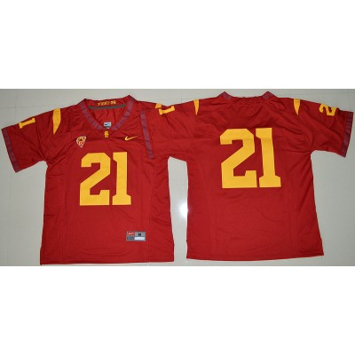 NCAA USC Trojans 21 Adoree' Jackson Red 2016-17 Men Jersey
