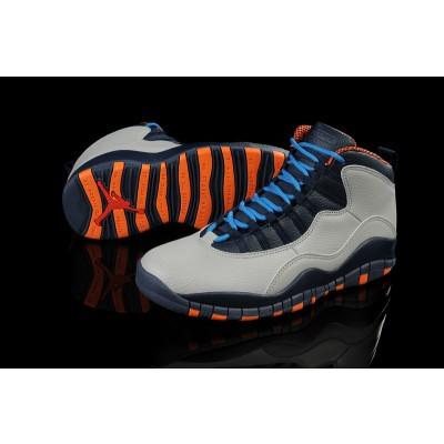 Air Jordan 10 Retro Cool Gray black Blue Men Women Shoes