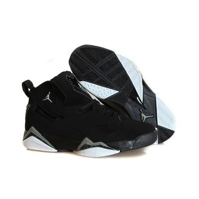 Air Jordan 7.5 Flight Black Men Women Shoes