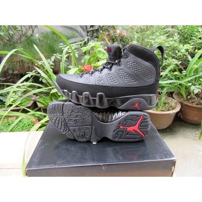 Air Jordan 9 High Sliver Black Men Women Shoes