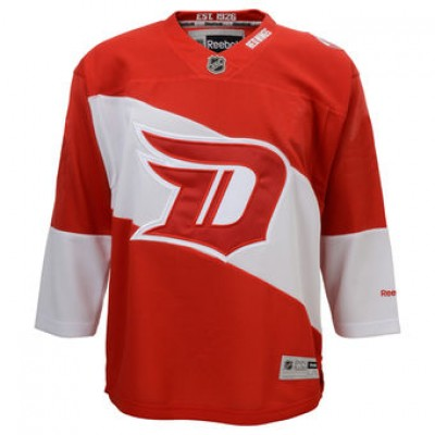Reebok NHL Detroit Red Wings Red 2016 Stadium Series Customized Jersey