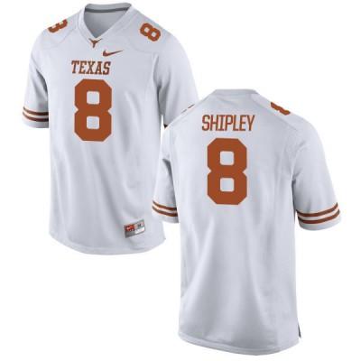 NCAA Texas Longhorns 8 Jordan Shipley White Nike Men Jersey