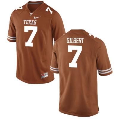 NCAA Texas Longhorns 7 Garrett Gilbert Orange Nike Men Jersey
