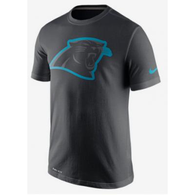 Nike Panthers Black Legend Logo Men's Short Sleeve T-Shirt
