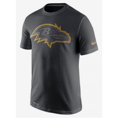 Nike Ravens Black Legend Logo Men's Short Sleeve T-Shirt