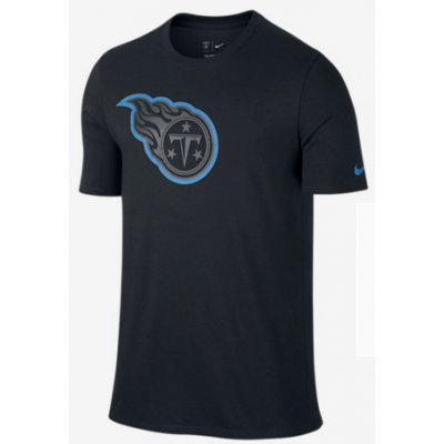 Nike Titans Black Legend Logo Men's Short Sleeve T-Shirt