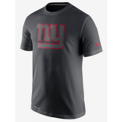 Nike Giants Black Legend Logo Men's Short Sleeve T-Shirt