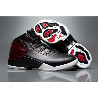 "Air Jordan 17 ""Bulls"" Black Gym Red-White Shoes"