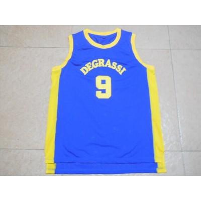 Movie Degrassi 9 blue Basketball Men Jersey
