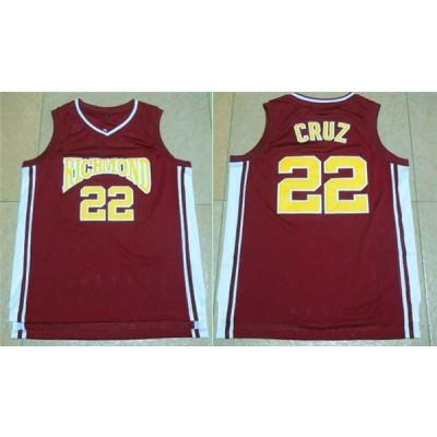 Movie Richmond Oilers 22 Timo Cruz Home Coach Carter Basketball Men Jersey