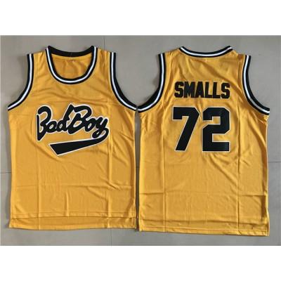 Movie bad boys 72 smalls Basketball Men Jersey